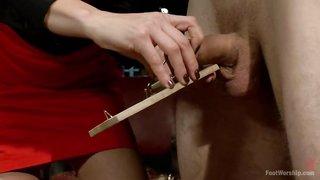 Penis folter porno