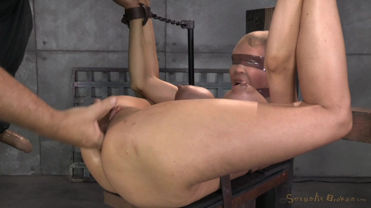 Accept. The bond bondage gag victim
